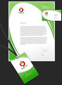 Healthy Heart logo by rosesfairy on DeviantArt Heart Logo, Id Badge, Corporate Identity, Mockup, Ads, Logos, Healthy Heart, Free, Logo