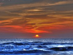 Ocean Sunset GIF