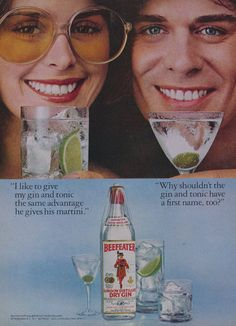 1978 Beefeater Gin Ad Vintage Liquor Advertising by AdVintageCom