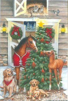 Barn Scene by Kathy Goff, cciart.com