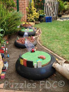 Small community imagination play