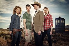 Amy, Rory, River, Doctor Who,