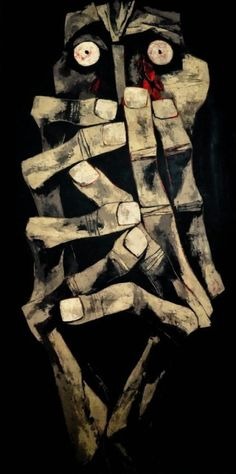 Tears of Blood ~ by Oswaldo Guayasamin.