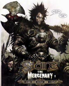 Slaine #comics #2000ad