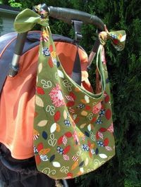 stroller bag - great baby shower idea