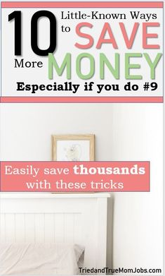 Are you looking for ways to save more money so you can have more money. Check out these little known saving tips and save more money today. Money Saving Mom, Best Money Saving Tips, Ways To Save Money, Money Tips, Money Today, Earn Money From Home, Frugal Living Tips, Frugal Tips, 52 Week Money Challenge