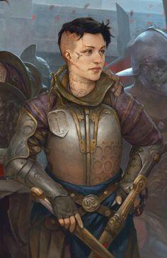 "kenthedm-inspiration: ""Gladiators by Stepan Alekseev """