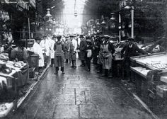 Long before the Northern Quarter was known for its hip and trendy nightlife the area was home to the famous Smithfield Market Oak Street, Street View, Open All Hours, Smithfield Market, Irish Catholic, Trafford, Old London, Paris France, Night Life