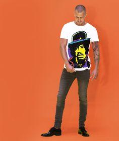 Jimi hendrix - jossart handpainted tshirts see more: www.jossart.com
