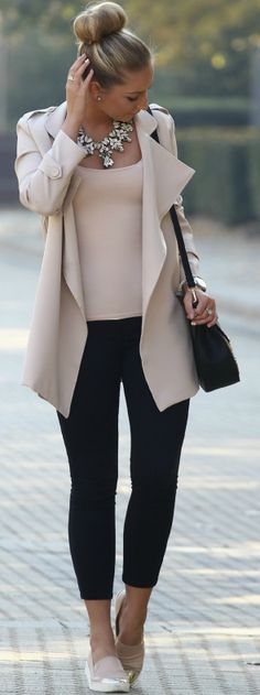Pastel Times Fall Street Style Inspo by Style and Blog