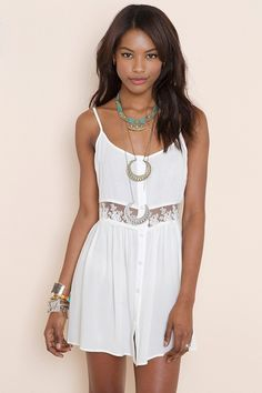 $68Field Day Dress - Ivory