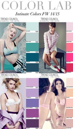 Trend Council - Color Lab:  Intimates FW '14'15