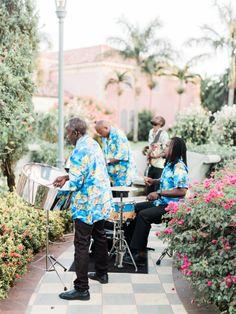 Jamaican wedding band http://itgirlweddings.com/glam-beach-wedding/