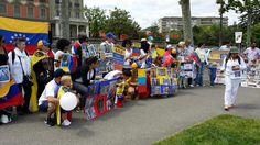 #30M Desde #Ginebra también apoyan a los presos políticos de Venezuela #360UCV