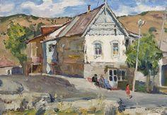 Boris Mikhailovich Lavrenko  A Molokan House In Armenia  19 x 27 1/2Oil on Board1978