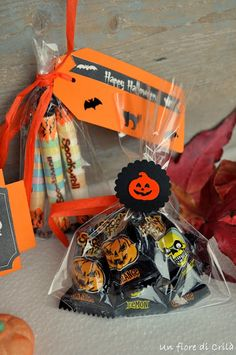 Halloween goodie bags for kids