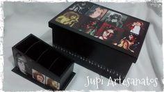 Jupi Artes: Porta DVD e Porta Controle Remoto