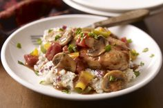 Chicken Cacciatore with Creamy Mashed Potatoes Recipe - Healthy Living Kraft Recipes
