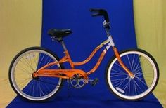 "Me-$0/wk-This bike has a 24"" wheel (15""frame) this unisex single-speed is a smaller adult style frame for petite women. Single-Speed Bikes - Billy's Sanibel Bike Rentals-1470 Periwinkle Way"