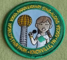 Girl Scout 100th Anniversary patch. Forever Green: Celebrating 100 ...