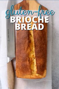 This highly enriched loaf of gluten free brioche bread is a lightly sweet, buttery, bakery-style loaf with a tender yellow crumb and a deep brown, but not especially crispy, crust. Perfect for French toast!