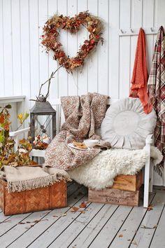 Gemütlichkeit im Herbst geht auch draussen. (Bild gefunden auf:vibekedesign.blogspot.com)