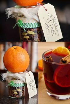 Mulled Wine Kit | 24 Delicious DIY Food Gifts In Jars