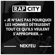 Nekfeu s 50 best punchlines Famous Movie Quotes, Quotes By Famous People, People Quotes, Hip Hop Quotes, Rap Quotes, Life Quotes, Best Punchlines, Rap City, Albert Einstein Quotes