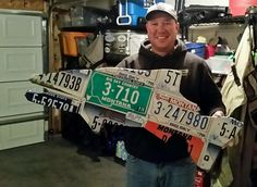 Mix Montana license plate trout. Happy customer.