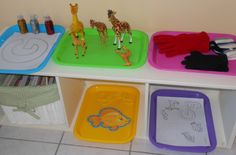 Natural Beach Living: Tot time Preschool Letter G; lots of ideas for tot trays; using gumballs, green goo, grapes and Letter G Activities, Preschool Letters, Preschool Themes, Montessori Preschool, Preschool At Home, Daycare Crafts, Daycare Ideas, Tot Trays, Letter Of The Week