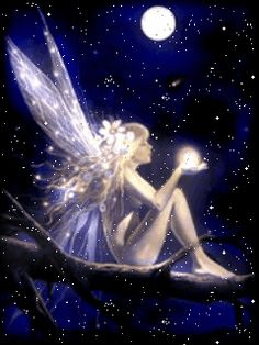 Angel or fairy CLICK ON THE PICTURE (gif) AN WATCH IT COME TO LIFE, MOVING LIGHT ...♡♥♡♥Love it!