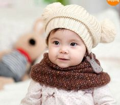 New Baby Winter Warm Earmuffs Hat