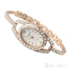 2b4252bd94c 16 minimalismo moda senhoras mulheres strass relógio aço inoxidável dourada  itens 01nm relógios