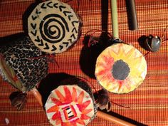 African Drum Rattles African Drum, Drums, Shirt Designs, Halloween, Home Decor, Drum Sets, Interior Design, Halloween Stuff, Home Interior Design