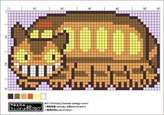 今回は、「となりのトトロ」より、(個人的に)触ってみたいランキングNO.1 ネコバスの図案をご紹介します。 この図案は個人的に楽しむ範囲でお使いくださいね。 ネコバスグッズ! ネコバスマット可愛すぎる・・・! 最後に ネコバスの開閉音の物まね選手権があればベスト8くらいに残れる自信があります(`・ω・´) さつきちゃんがネコバスに座った時のふんわり感・・・気持ちよさそうですよね♡ ネコバスに乗りたい人は三鷹にあるジブリの森美術に行くとちょっと小さめのネコバスに会えますよ~(小学校低学年までですが) ではでは~^^ にほんブログ村