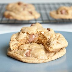 salted chocolate chip cookies -- these were a big hit at the offices today
