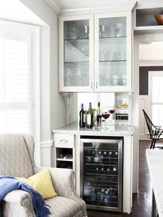 Traditional | Kitchens | Erica Islas : Designers' Portfolio : HGTV - Home & Garden Television Wine Bar