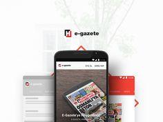 E-gazete for Android by Mert Öztopkara