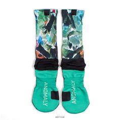 Lecrae 'Anomaly Pattern' Premium Print Socks