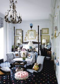 Traditional Bedroom by Friederike Kemp Biggs and George W. Sweeney in New York, New York