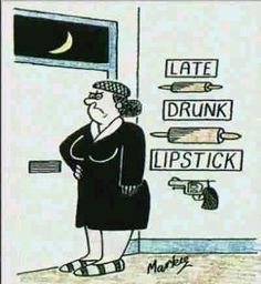 Late Drunk Lipstick