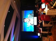 Mark Schmulen, GM of Social Media, Constant Contact takes the mic — at Boston Marriott Copley Place.