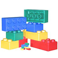 Attractive Giant Foam Lego Brick Set $87.77