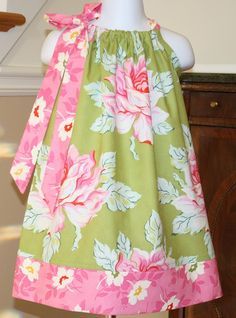 Pillowcase dress.  Cute and easy