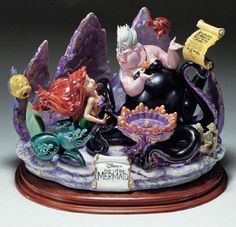 Laurenz Disney Collection The Little Mermaid Enzo Arzenton Released 1992 - New
