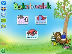 Bokstavslek lär ut stavning av mer än 300 substantiv, på såväl svenska som engelska och i varierande svårighetsgrader.