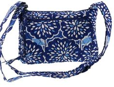 Vera Bradley Little Hipster Handbag Crossbody Purse in Petal Splash * Check this awesome product by going to the link at the image. (This is an Amazon Affiliate link and I receive a commission for the sales)