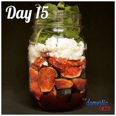 "903 Likes, 21 Comments - The Domestic Geek (@thedomesticgeek1) on Instagram: ""Day 15 - Fig Salad -  2 tbsp balsamic vinaigrette (recipe link in bio)  3-4 fresh figs, chopped ¼…"""