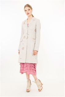 HEADS OR TAILS  COAT-jackets & coats-Trelise Cooper