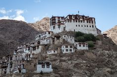 Chemre Monastery - Ladakh, Northern India by Andrea Schieber India, Mansions, House Styles, Manor Houses, Villas, Fancy Houses, Palaces, Mansion, Mansion Houses